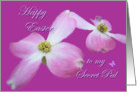 Secret Dogwood Easter Blessings card