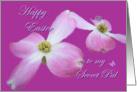 Secret Dogwood Easter Blessings card