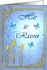 He is Risen card