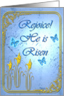 Rejoice He is Risen card