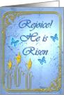 Rejoice He is Risen card