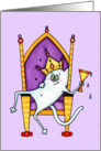 King or Queen Cat Congratulations Card