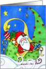 Santa's Sleigh Ride card