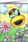 Spring Bee card