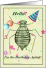 Birthday Aphid card