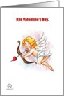 Valentine's Day - Cupid card