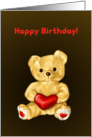 Cute Teddy card