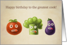 Happy birthday to the greatest cook Card