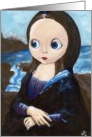Mona Lisa Smiles card