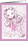 Purple Mermaid card