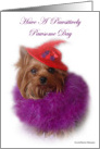 Red Hat Society card
