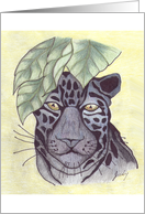 Panther in the Jungle card