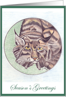 Lynx - Season's Greetings card