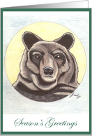 Great Bear - Season's Greetings card