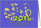 Happy New Year 2013 Boyfriend card