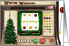 Winter Winnings Christmas Jackpot card