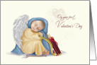 Cupid Valentine - Babies First - Boy card