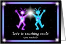 Love is Touching Souls card