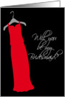 Red Bridesmaid Dress card