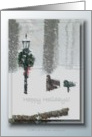 A Snowy Day ... Happy Holidays card