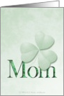 St. Patty's Day - For Mom card
