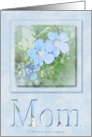 MOM - Happy Mother's Day card