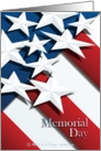 Stars & Stripes - Memorial Day card