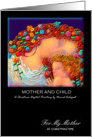Christmas, Mother, 'Mother and Child', Paper Card