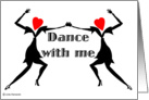 Dance with Me card