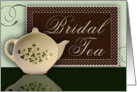 Irish Bridal Tea card