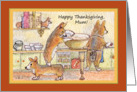 Happy Thanksgiving Mum! card