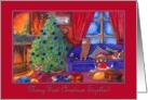 Merry 1st Christmas together, Christmas corgis card
