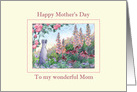 Happy Mother's Day, to my wonderful Mom, dog mother's day card