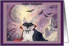 Halloween Westie, dog, Happy Halloween, card