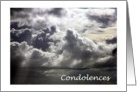 Cloud Condolences card