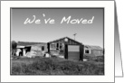 Old Shed We've Moved II card