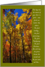 Thinking of you bereaved: leaves card