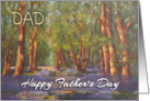 Happy Father&rsquo;s Day Dad from Daughter - &rsquo;Bluebell Woods&rsquo; card