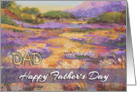 Happy Father&rsquo;s Day Dad from Son - &rsquo;Haut Alpes plain&rsquo; card