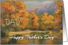 Happy Father&rsquo;s Day Dad from Son - &rsquo;Quiet Backwater&rsquo; card