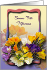 Bonne Fte Maman - French Mother&rsquo;s Day Card
