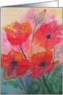 Mother&rsquo;s Day Poppies card