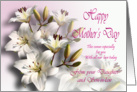 From Daughter and son-in-law, Happy Mother&rsquo;s Day Card - White Lilies card