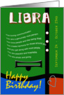 Zodiac Birthday Series 2011 - Libra card