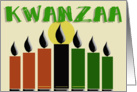Kwanzaa - Peace and Blessings card