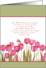 psalm 37,39 encouragement, tulips card