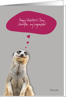 Happy Valentine's Day ..., customizable love & romance card, card
