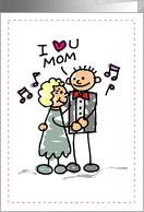 Thanks Mom of Groom card by Sandra Rose Designs