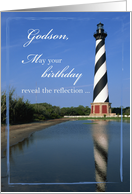 Cape Hatteras Birthday to Godson card