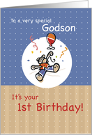Godson 1st BIRTHDAY card